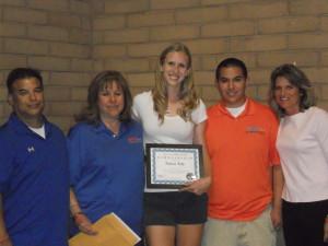 2013 Scholarship Winner
